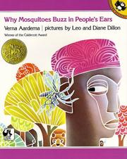 Why mosquitoes buzz in people's ears by Verna Aardema