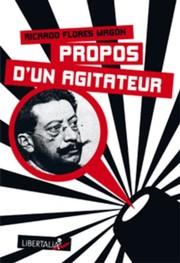 PROPOS DUN AGITATEUR ancienne édition