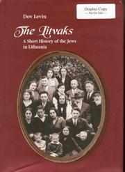 The Litvaks by Dov Levin