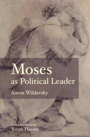 Moses as Political Leader PDF