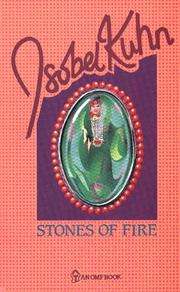 Stones of fire by Isobel Kuhn