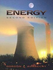 Energy by Gordon J. Aubrecht