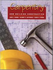 Carpentry and building construction by John Louis Feirer