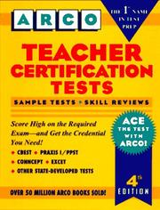 Teacher certification tests PDF