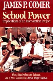 School Power by James P. Comer