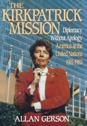 The Kirkpatrick mission by Allan Gerson