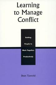 Learning to Manage Conflict PDF