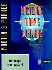 Mastering today&#39;s software by Edward G. Martin