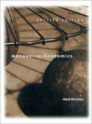 Managerial Economics (Revised Edition) (Dryden Press Series in Economics)