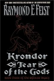Cover of: Krondor by Raymond E. Feist