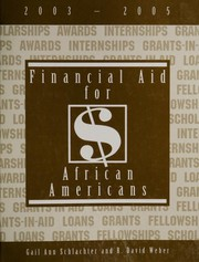 Financial Aid for African Americans, 2003-2005 (Financial Aid for African Americans)