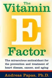The Vitamin E Factor PDF