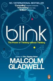 Cover of: Blink by Malcolm Gladwell
