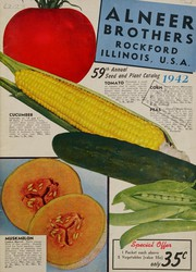 59th annual seed and plant catalog, 1942