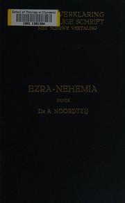 De boeken Ezra en Nehemia