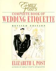 Emily Post's complete book of wedding etiquette PDF