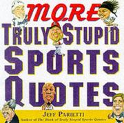 More truly stupid sports quotes PDF