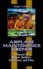 Airplane Maintenance & Repair PDF