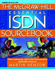 Cover of: The McGraw-Hill essential ISDN sourcebook by Martin A. W. Nemzow