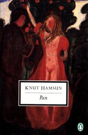 Pan by Knut Hamsun