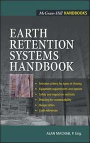 Earth retention systems PDF