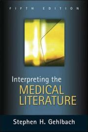 Interpreting the medical literature PDF