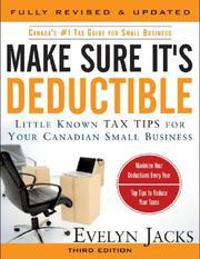 Make sure it's deductible PDF