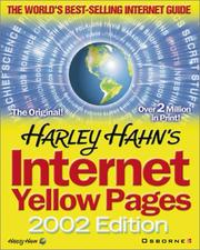 Harley Hahn's Internet Yellow Pages PDF