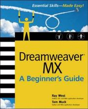 Dreamweaver MX by Ray West