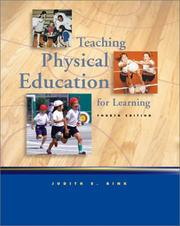 Teaching physical education for learning PDF