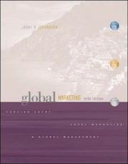 Global Marketing by Johny K. Johansson