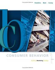 Consumer behavior by Del I. Hawkins