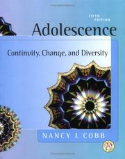 Adolescence by Nancy J. Cobb