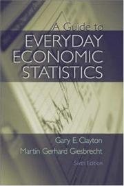 A guide to everyday economic statistics PDF