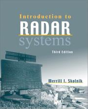 Introduction to radar systems PDF