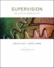 Supervision, key link to productivity by Leslie W. Rue
