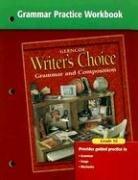 Writer's Choice Grammar Practice Workbook Grade 10 PDF