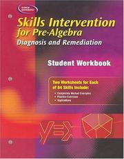 Skills Intervention for Pre-Algebra PDF