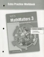 MathMatters 3 by McGraw-Hill