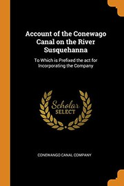 Account of the Conewago Canal on the River Susquehanna