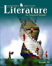 Jamestown Education, Adapted Literature, Student Edition Grade 10 (Jamestown Education) PDF