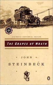 Cover of: The  grapes of wrath by John Steinbeck
