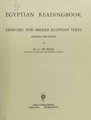 Egyptian Readingbook