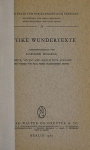 Antike Wundertexte