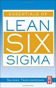Essentials of Lean Six Sigma PDF