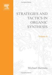 Strategies and Tactics in Organic Synthesis PDF