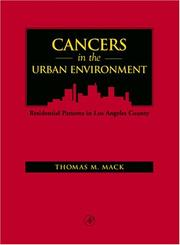 Cancers in the Urban Environment by Thomas M. Mack