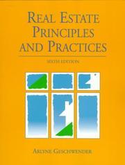 Real estate principles & practices PDF