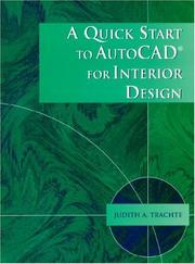 Quick Start to AutoCAD for Interior Design, A PDF