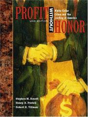 Profit without honor by Stephen M. Rosoff